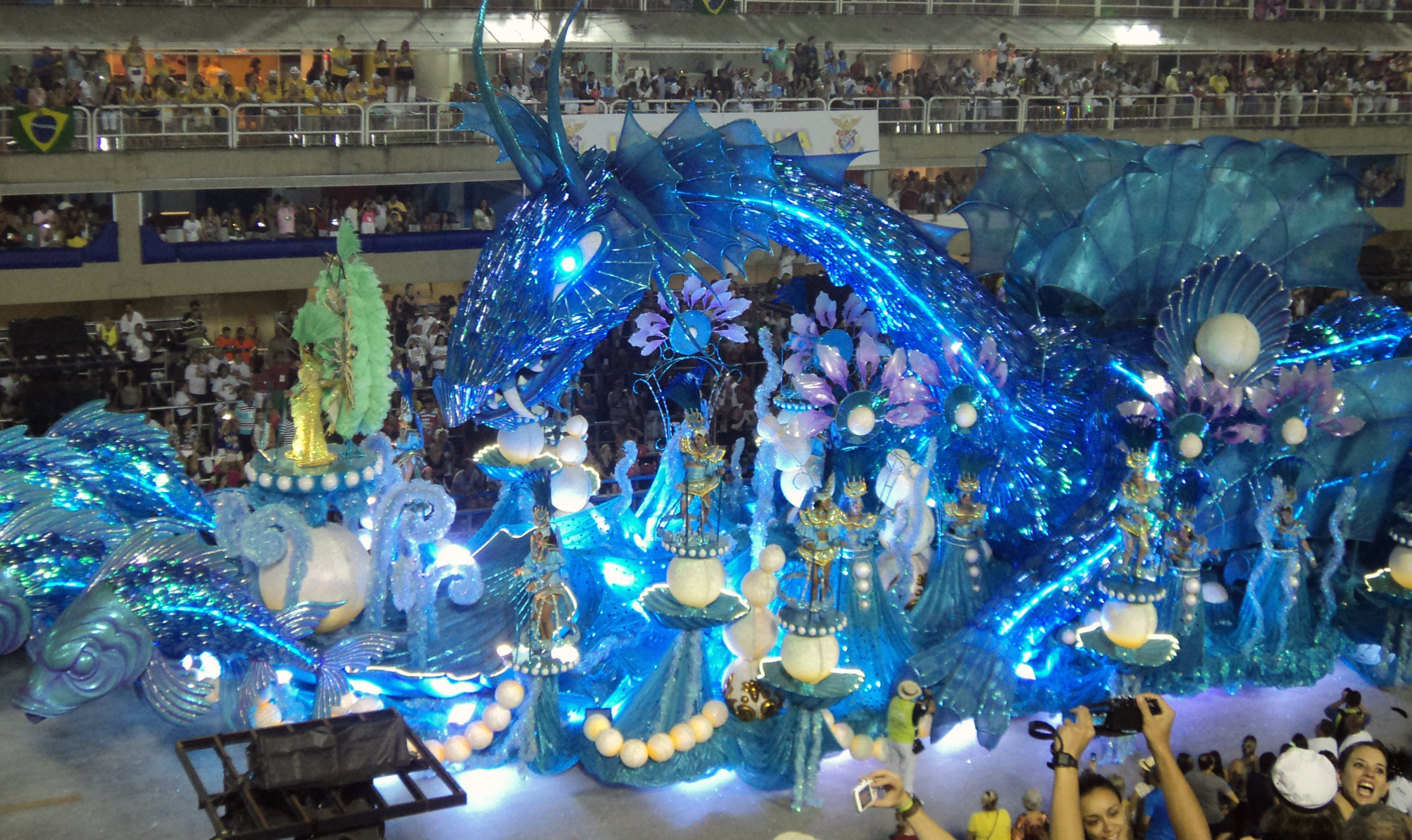 Rio De Janeiro Carnival Floats