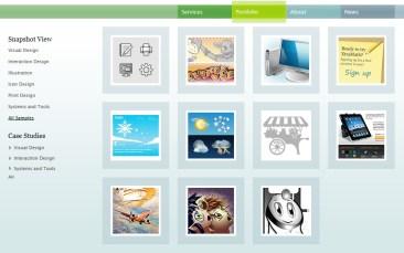 allovus portfolio page