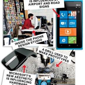 microsoft's design drive