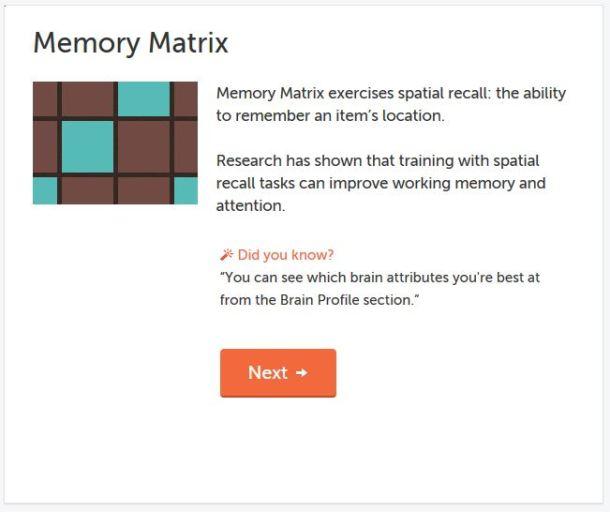 Memory Matrix