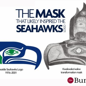 seahawks logo: then and now