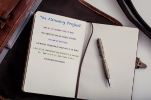 allowing project journal
