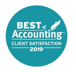 Best of Accounting Client Service CPA Firm National Award