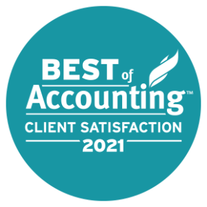 Best of Accounting Award 2021 Winner Best Client Satisfaction