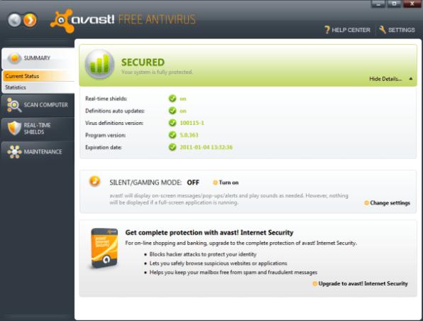 Avast Antivirus Download 2014 Free