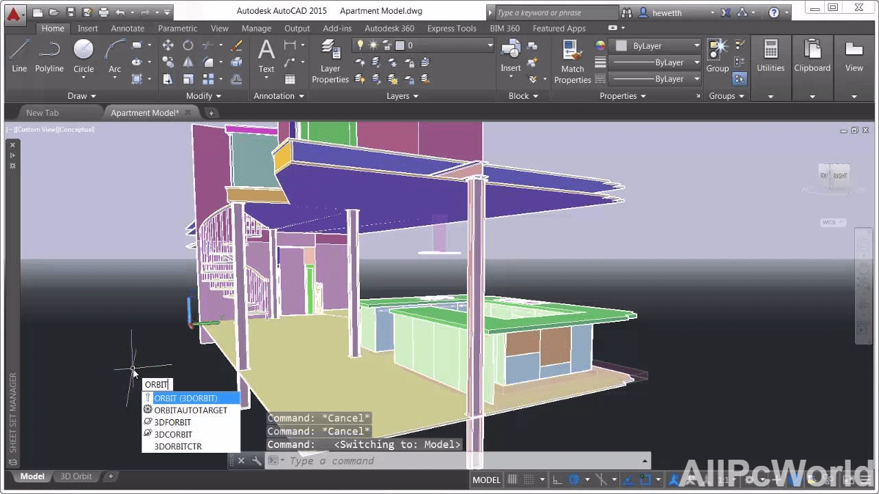 Autocad 2015 3d Drawing All Pc World