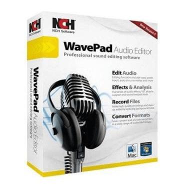 WavePad Audio Editing Software Logo