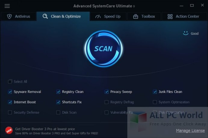 Advanced SystemCare Ultimate Review and Features