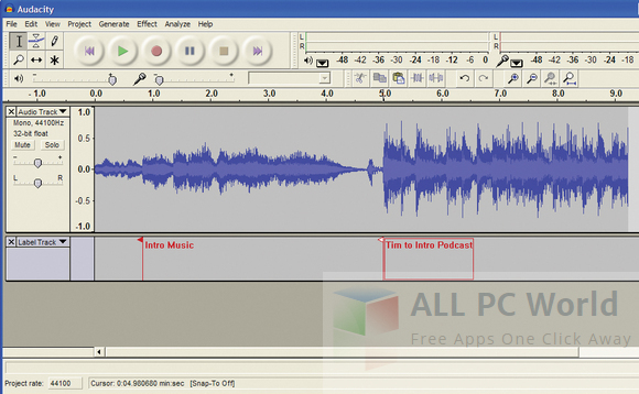 Audacity 2.1.2 Review
