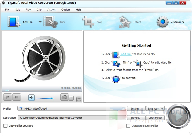 Bigasoft Total Video Converter Review and Features