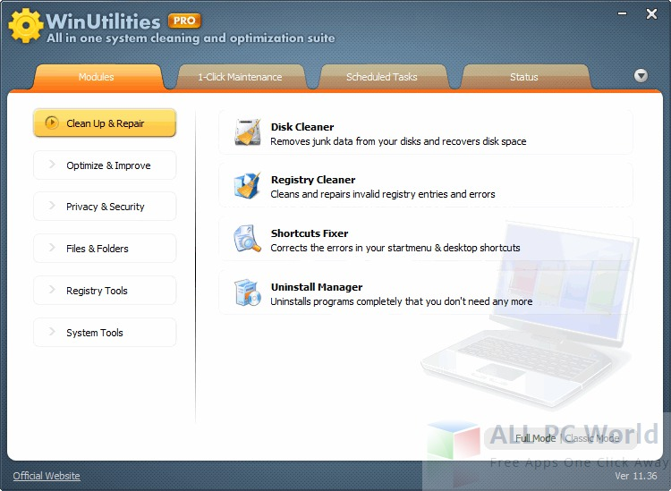 WinUtilities PC Cleaner Review