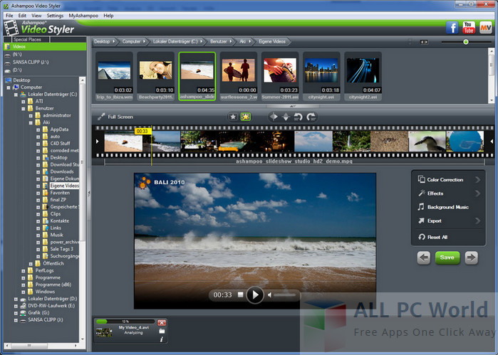 Ashampoo Video Styler 1.0.1 Review