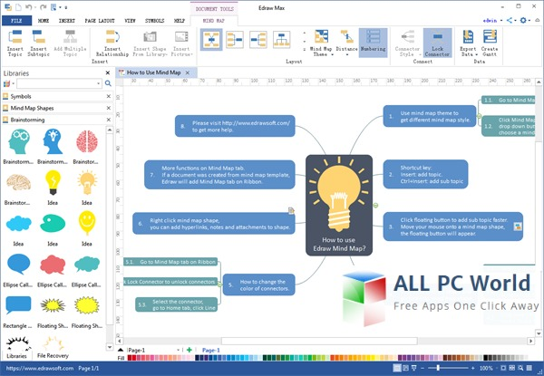 Edraw Mind Map Pro Free Review