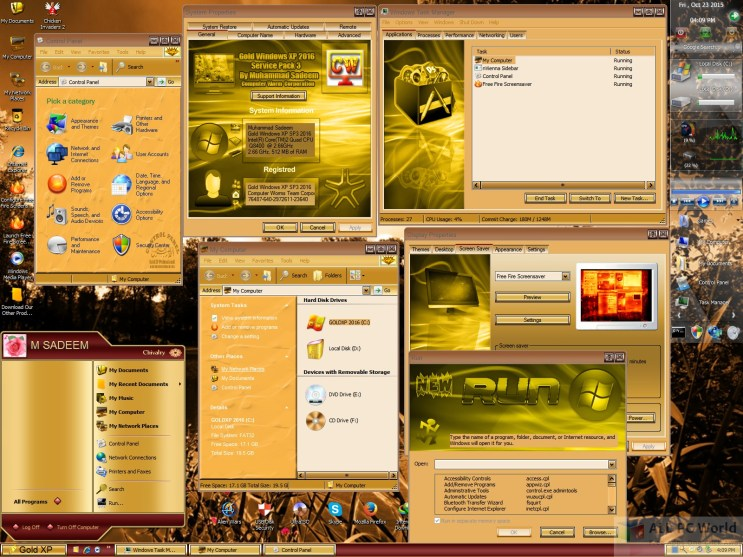 Microsoft Windows XP Gold Edition SP3 2016 Review