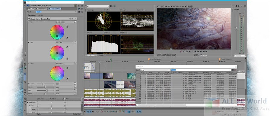 Sony Vegas Pro 11.700 Video Editor Review