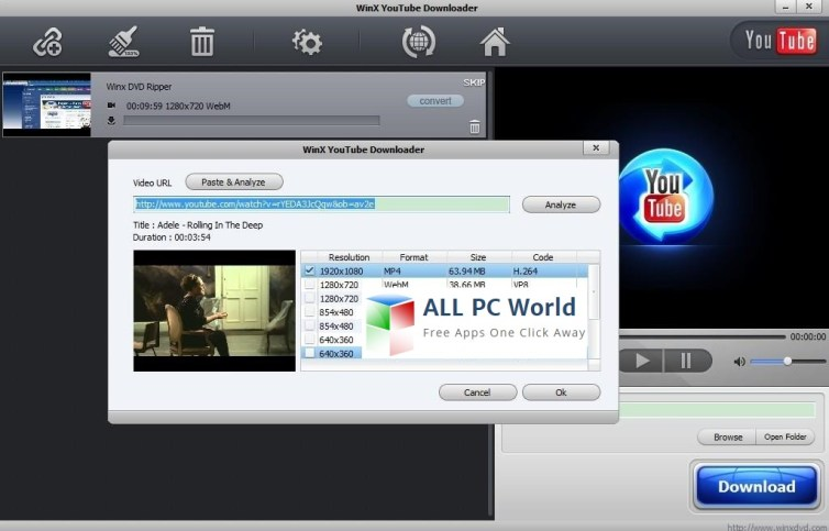 WinXYouTube Downloader Review