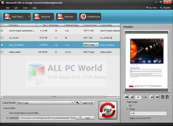 Aiseesoft PDF to Image Converter Review
