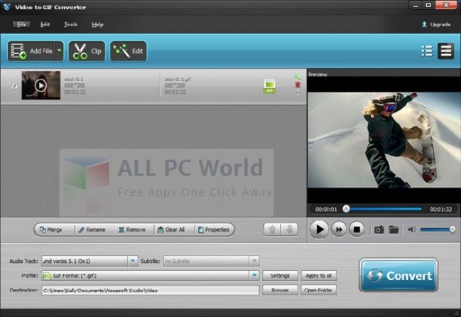 Aiseesoft Video to GIF Converter Review