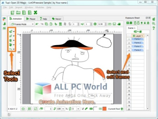 Tupi2D Magic Software Review