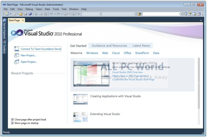 Visual Studio 2010 Professional Review