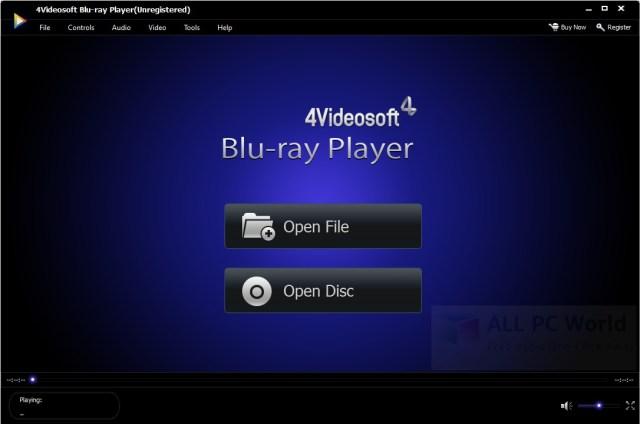 4Videosoft Free Blu-ray Player Review
