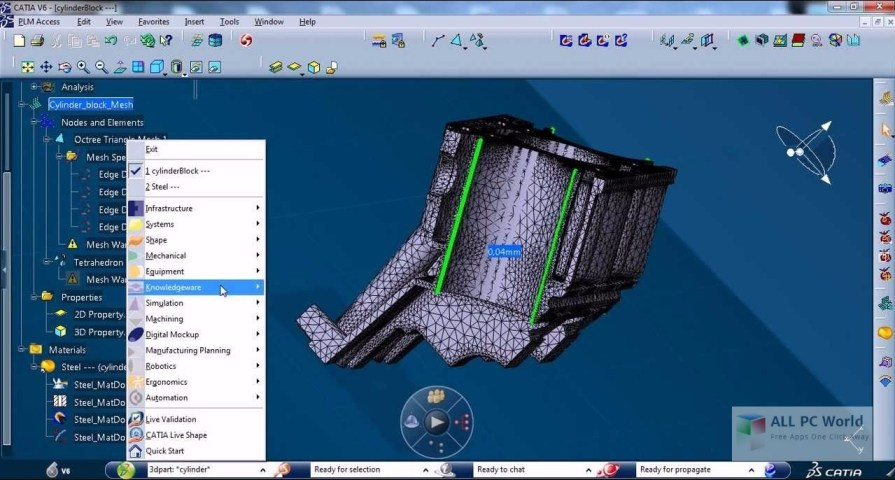Catia V6 User Interface