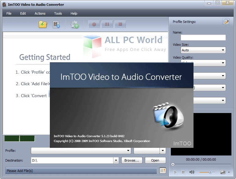 ImTOO Video to Audio Converter Review