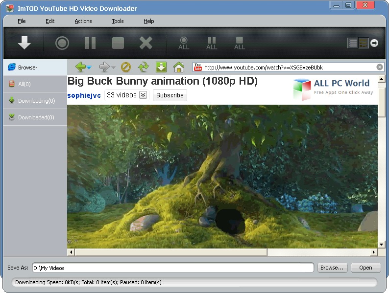 ImTOO YouTube HD Video Downloader Review