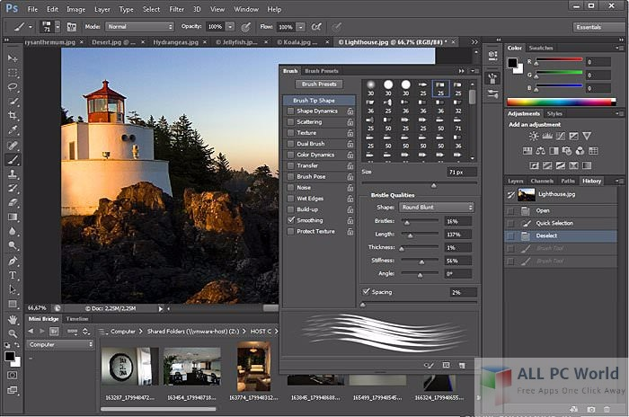 Adobe Photoshop Elements V13 User Interface