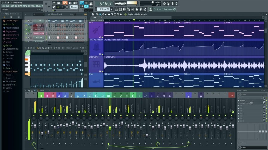 FL Studio Producer Edition 11 R2 with Plugins Review