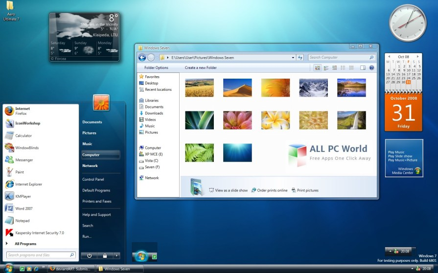 Microsoft Windows Vista Business SP2 DVD ISO Free Download
