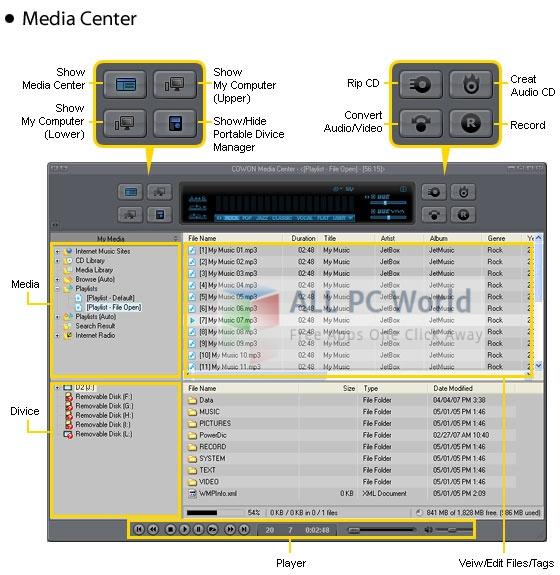 Cowon jetAudio v8.1.5.10314 Plus VX Review