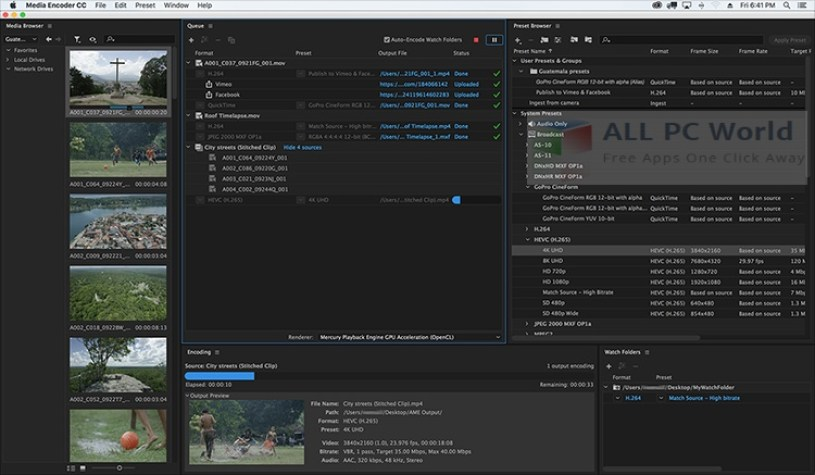 Adobe Media Encoder CC 2017 Review