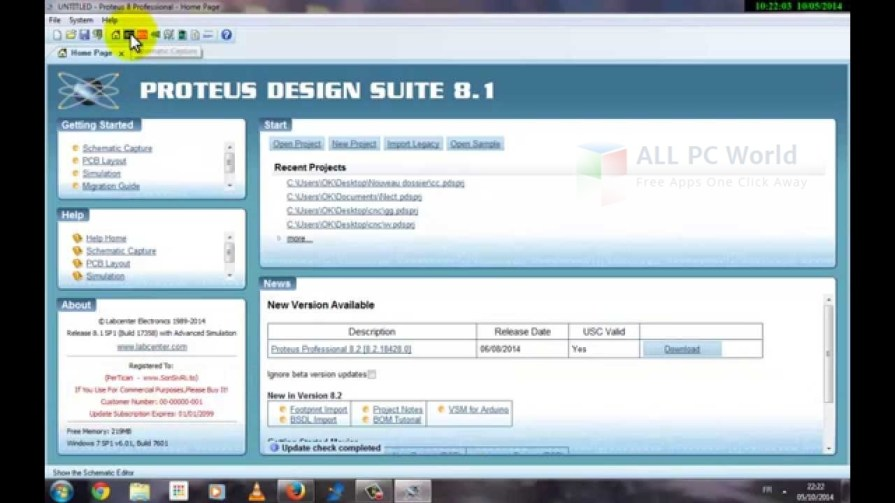 Proteus Design Suite 2014 Professional 8.1 SP1 Review