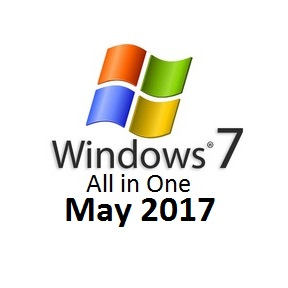 Windows 7 All in One May 2017 DVD ISO Free Download