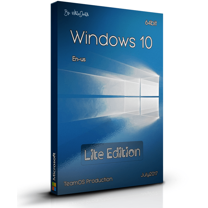Download Windows 10 Lite Edition 15063.483 x64 DVD ISO Free