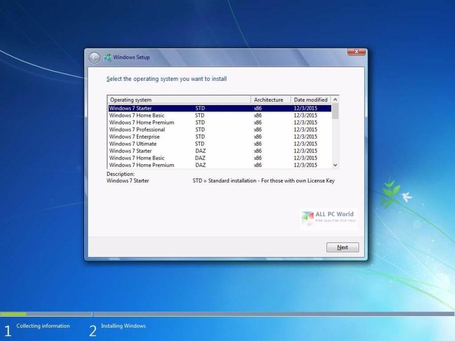 Windows 7 AIO DVD ISO Sep 2017 Review