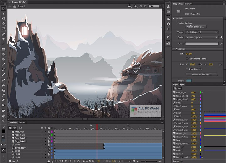Adobe Animate CC 2018 18.0 Overview