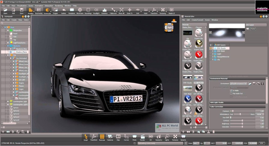 Autodesk VRED 2018 Review