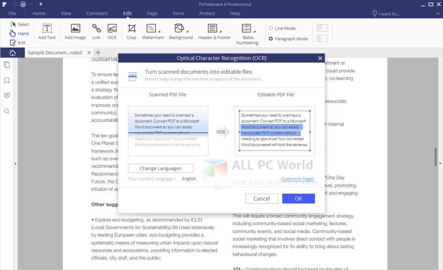 Wondershare PDFelement Professional 6.3.5.2806 Setup Download