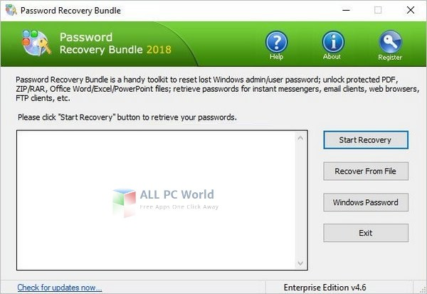 Download Password Recovery Bundle 2018 4.6