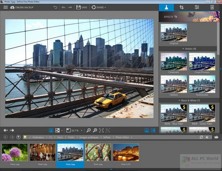 Download Avanquest InPixio Photo Editor 8.3 Free