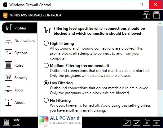Download Windows Firewall Control 5.1 Free