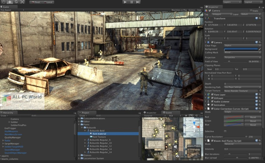 Download Unity Pro 2018 Free