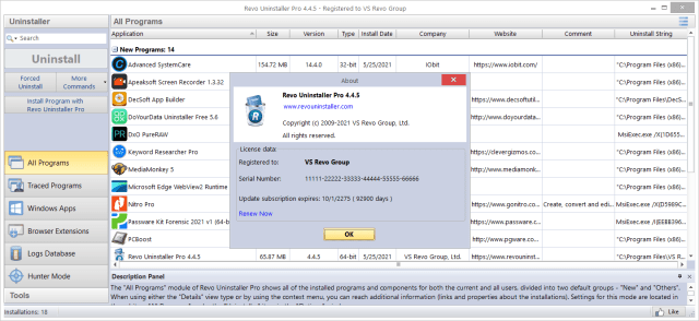 Revo Uninstaller Pro 4.5 Full Version Download