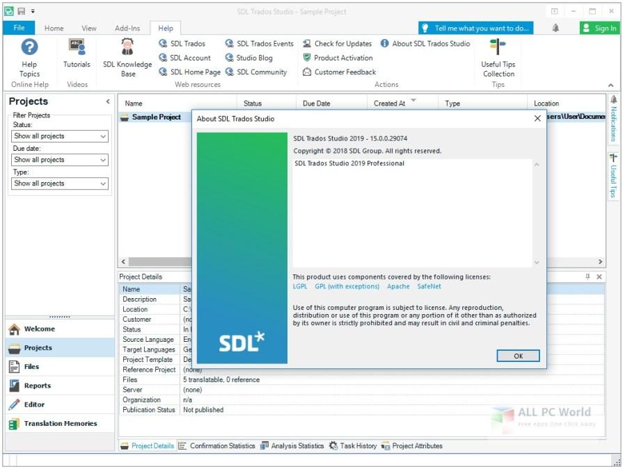 SDL Trados Studio 2019 Professional 15.0 Free Download