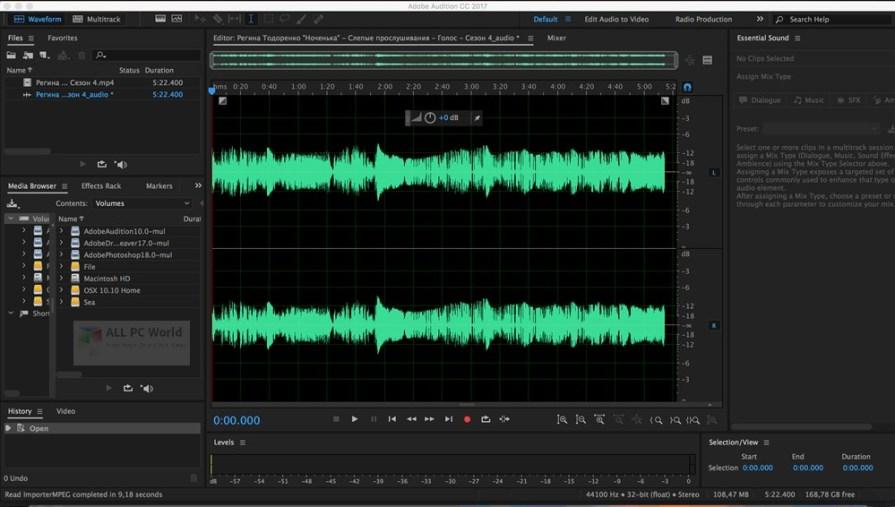 Adobe Audition CC 2018 v11.1 Free Download