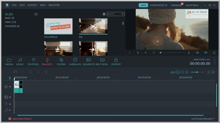 Wondershare Filmora Effects Pack 9 Free Download