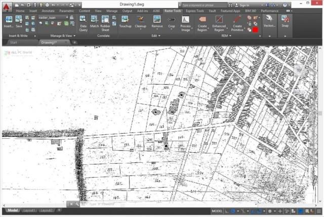 AutoCAD Raster Design 2021 Free Download