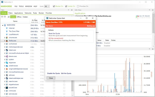 NetLimiter Pro 4.1 Free Download